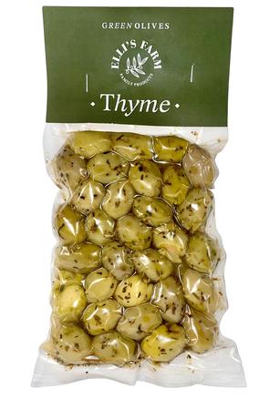 Oliwki zielone z tymiankiem 250g (1)