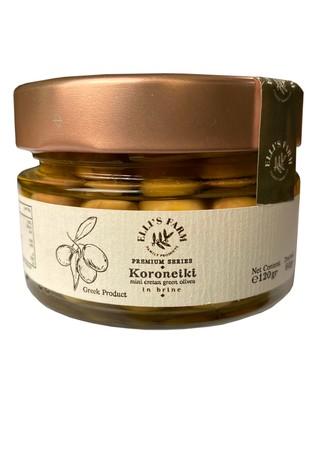 Oliwki zielone Koroneiki 60g - seria premium (1)